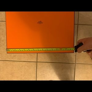 Hermès Empty Box